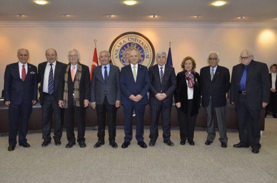 Ankara Üniversitesi Gönüllü Araştırma Profesörü ve 2018 Yılı Profesörlük Belgesi Takdim Töreni