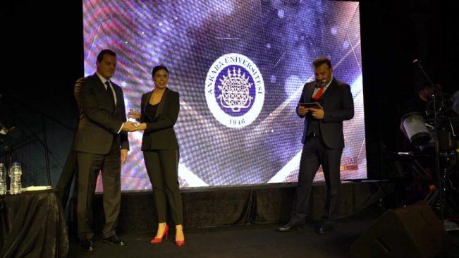 Ankara Üniversitesine Ödül